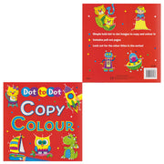 Dot to Dot Copy Colour Book