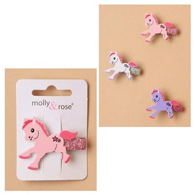 Cute Pony Hair Clips (12)