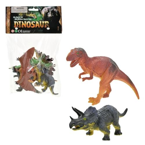 6pc Dinosaur Figure Set