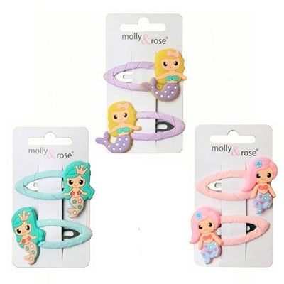 2pc Mermaid Design Hair Grip