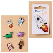Character Pin Badges (12)