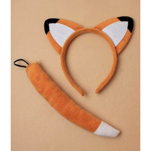 Fox Ears Headband & Tail Set