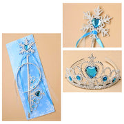 Ice Princess Snowflake Wand & Tiara Set (6)