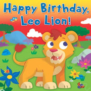 Happy Birthday Leo Lion Book