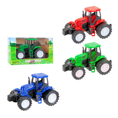Friction Powered Boxed Tractors