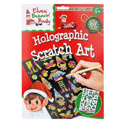 Elf Holographic Scratch Art