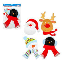 4pc Kids Christmas Character Masks