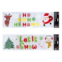 Christmas Gel Reusable Window Stickers (12)