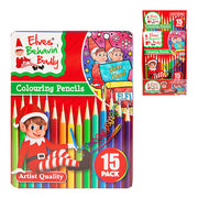 15pc Christmas Elf Colouring Pencil Set (6)