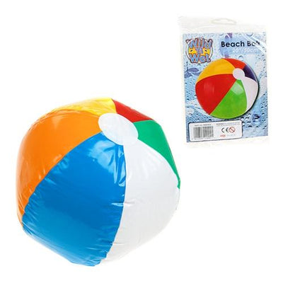 50cm 6 Panel Coloured Beach Ball