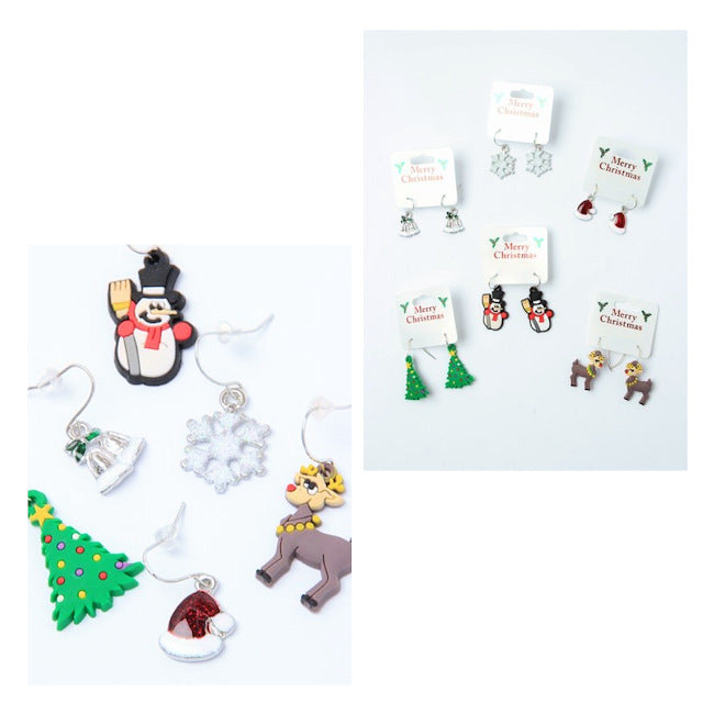 Christmas Character Earrings (12)