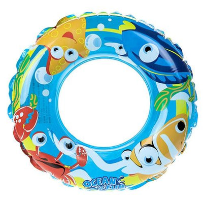 56cm Printed Beach Swim Ring