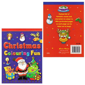 Christmas Colouring Fun Pad