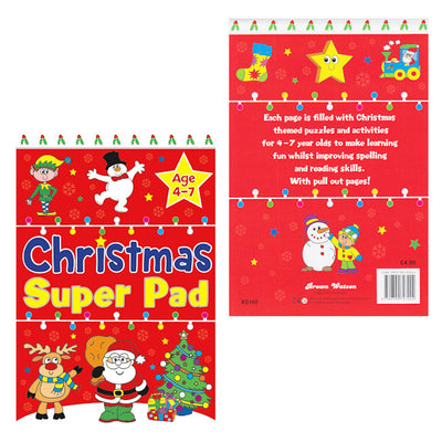 Christmas Super Pad - Ages 4-7