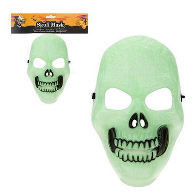 Halloween Glow In The Dark Skull Mask
