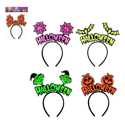 Halloween Neon Head Boppers
