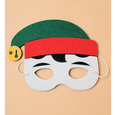 Christmas Felt Elf Face Mask