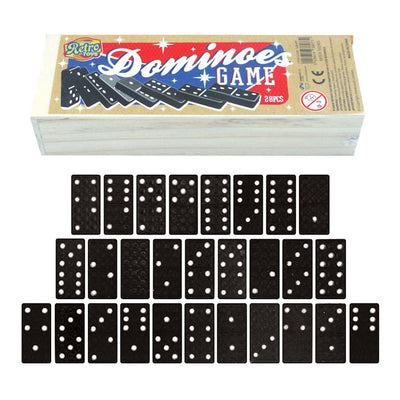28pc Retro Dominoes Set (12)