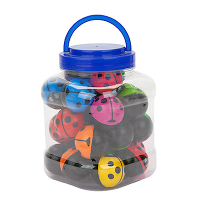 Ladybird design 45mm Bouncy Jet Balls