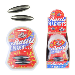 Retro Pack Rattle Magnets 2pc Set