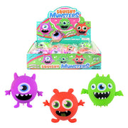 Stretchy Monster Stress Balls (12)
