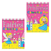 Princess Small Colouring Fun Pad (12)