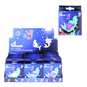Glow in the Dark Mermaid Shapes (24)