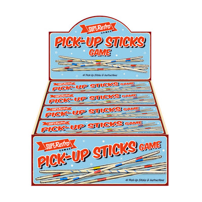 SuperRetro Pick-up Sticks Game (12)