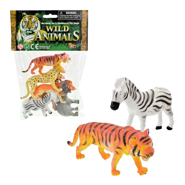 6pc Wild Animal Set (12)