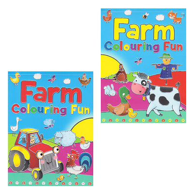 Farm Colouring Fun Pad (12)