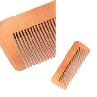 Straight Wooden Hair Comb