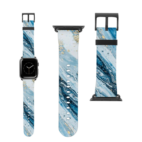 Water Marble Apple Watch Band