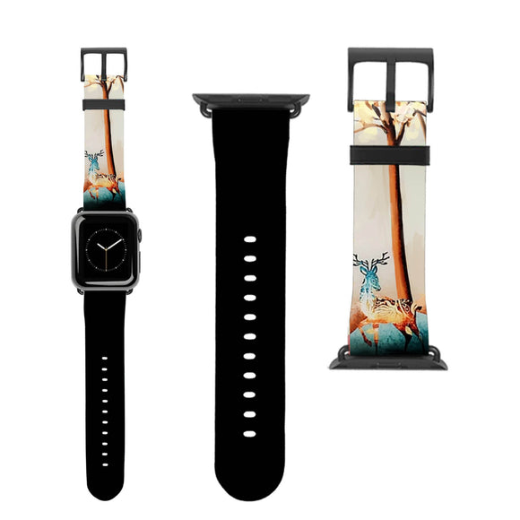Deer Art Apple Watch Band
