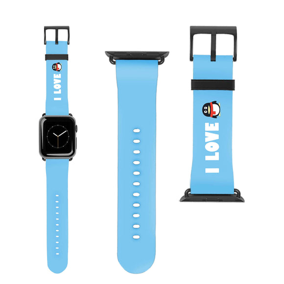 Penguin Scarf Apple Watch Band