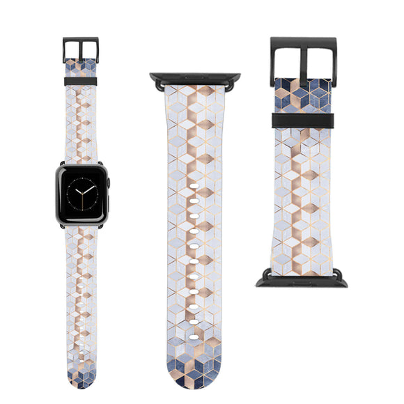 Geometric Marble Apple Watch Band