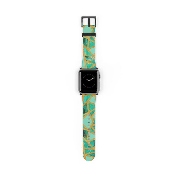 Turquoise Gemstone Apple Watch Band