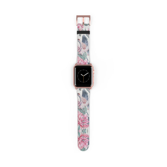Flower Crane Apple Watch Band