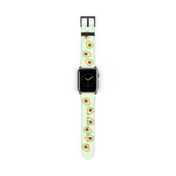 Smiling Avocado Apple Watch Band