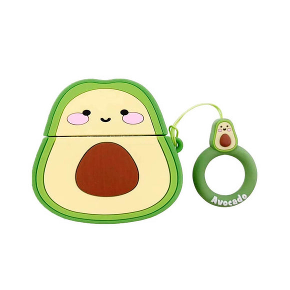 Smiling Avocado AirPods Case