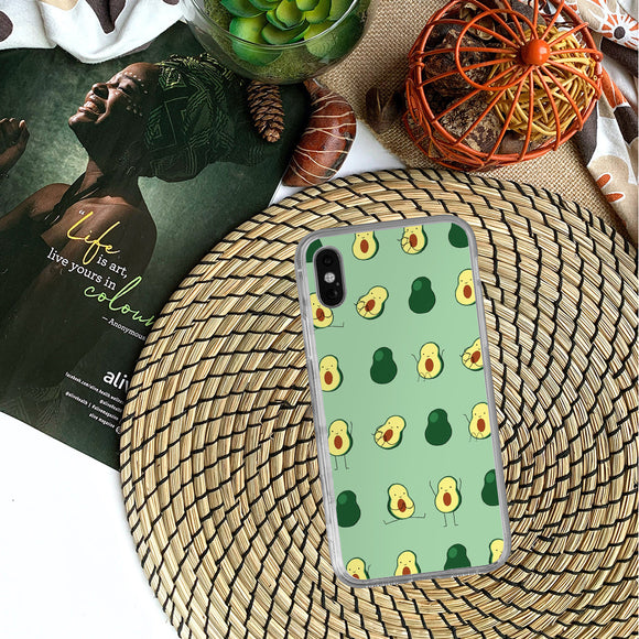 Avocado Print iPhone Case