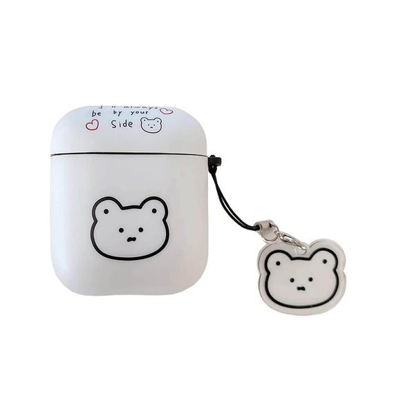 Minimalist Bear AirPods Case