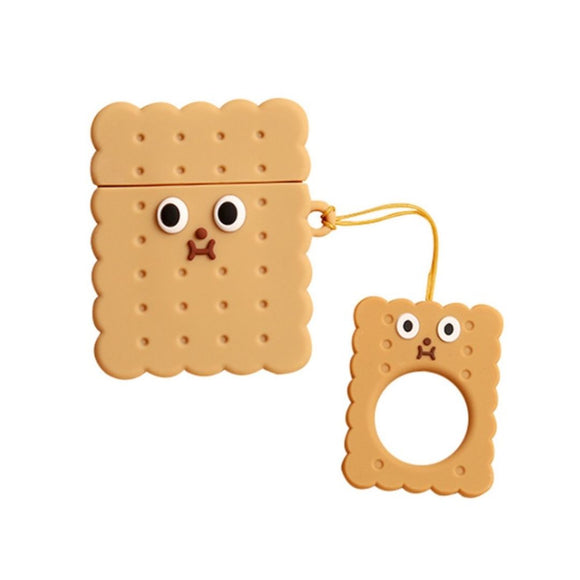 Square Biscuit AirPods Case