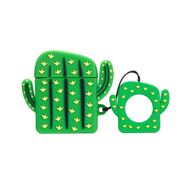 Cactus Shaped AirPods Case
