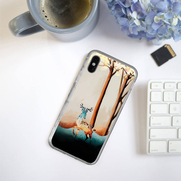 Deer Art iPhone Case
