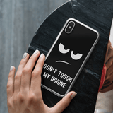 Don't Touch iPhone Case