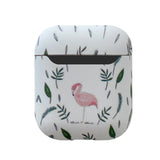 Floral Print Flamingo AirPods Case