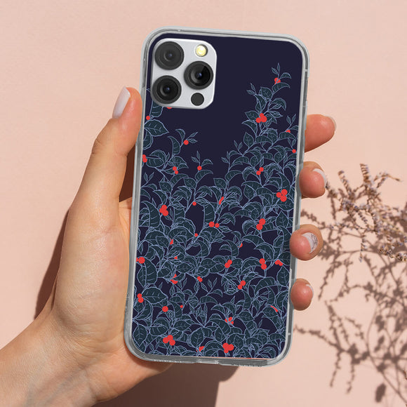 Floral Garden Painting iPhone Case
