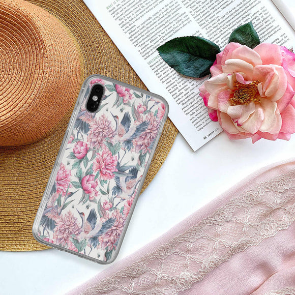 Flower Crane iPhone Case