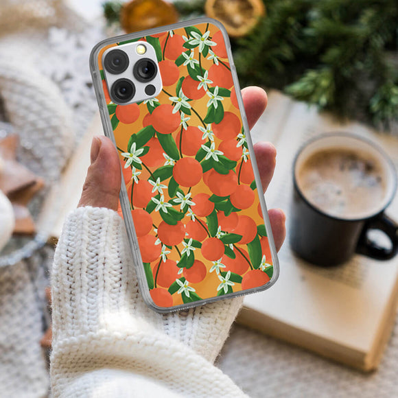 Fresh Orange Fruit iPhone Case