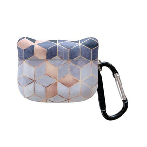 Geometric Marble AirPods Case